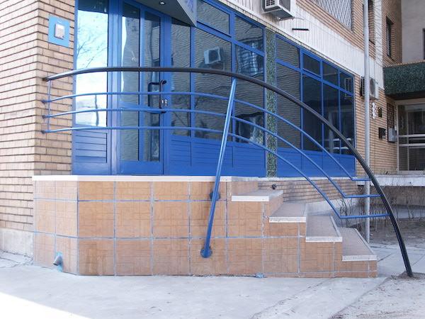 Balustrada exterior din otel