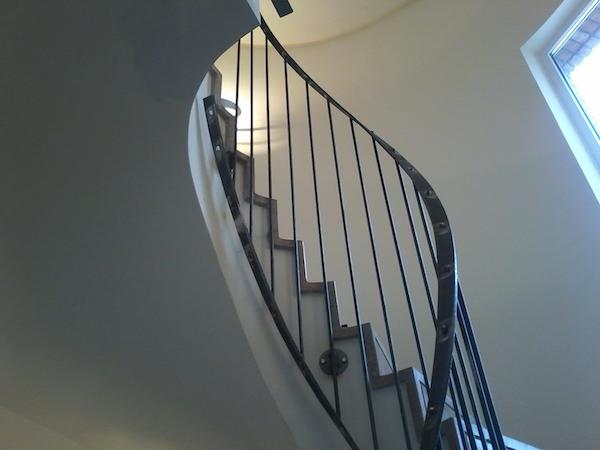 Balustrada interior din otel